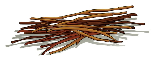 graphic pile of sticks
