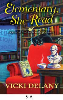 Elementary, She Read by Vicki Delany Cover