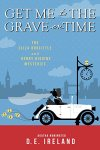 "Get Me to the Grave on Time Cover - silhouettes of man & woman in ""just married"" car"