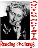 Photo of Agatha Christie with text