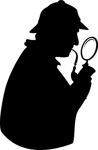 SherlockHolmesWithPipeAndGlass