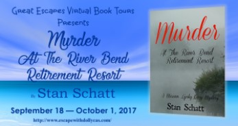 murder at the river bend resort large banner 184