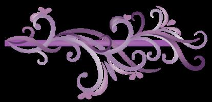 PurpleArtisticDivider
