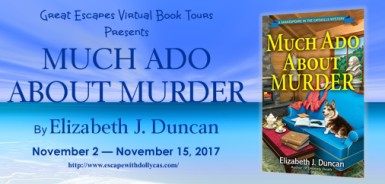 MUCH ADO ABOUT MURDER large banner184