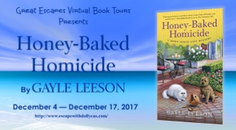HONEY BAKED HOMICIDE large banner 184