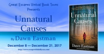 UNNATURAL CAUSES A large banner 184